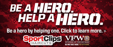 Sport Clips Haircuts of Overland Station​ Help a Hero Campaign